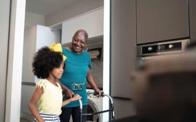 Making home safer for elderly loved ones.